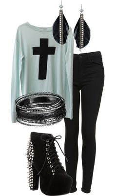 """Rocker Chic"" by ebacher on Polyvore"