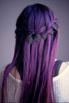 Capelli colorati sfumati tumblr