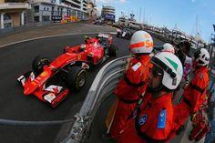 Kimi Raikkonen finishes P6 at the 2015 #F1 Monaco GP