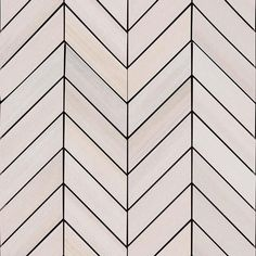 Buy Online Watercolor Bianco White Chevron Mosaic Matte Porcelain Tile for Wall and Floor. Mosaic Glass, Mosaic Tiles, Wall Tiles, Backsplash Tile, Fireplace Wall, Stone Tiles, Creative Decor, Bathroom Flooring, House Styles