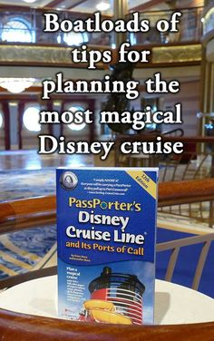 Find boatloads of tips to help you plan the most magical Disney cruise in the definitive guide to Disney cruise, the award-winning PassPorter's Disney Cruise Line guidebook.