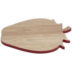 Strawberry Chopping Board Red