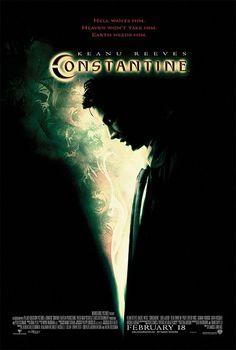 Constantine - film bergenre horror bercerita tentang keanu reeves yang berperan menjadi seorang paranormal untuk mengungkap kematian seorang gadis yang tak lazim.