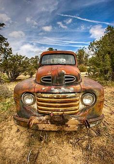 Rusty Ford Truck. Source Facebook.com