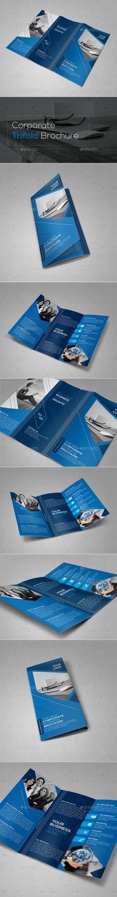 Corporate Tri Fold Brochure Template Psd Design Download Http