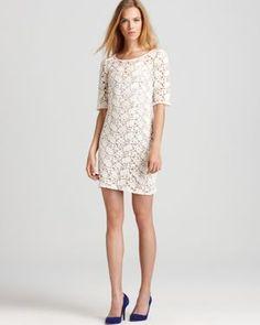 Velvet Lace Dress In Winter White Crochet Skirts Dresses