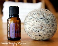 Dryer balls. Make the wool dryer balls yourself. So easy. Love the lavender oil fragrance as an added bonus. Love doTerra oils!