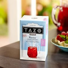 Tazo® Iced Passion® Filterbag Tea, 6 count. $4.95 at StarbucksStore.com  The passion tea lemonade is to die for