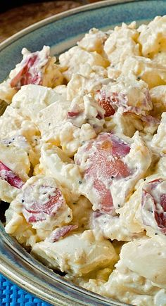 Jack& Potato Salad Recipe - Everytime my husband Jack makes this potato salad, we get asked for the recipe! Summer Recipes, Great Recipes, Favorite Recipes, Potato Dishes, Food Dishes, Side Dishes, Potato Recipes, Jack Potato, Classic Potato Salad
