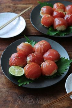 Bathong this is so delicicious if only I could eat it now😁😍 Sashimi, Cute Food, Yummy Food, Dessert Chef, Food Porn, Tempura, Aesthetic Food, Recipes From Heaven, Japanese Food