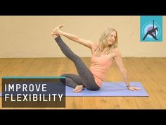 Gain and sustain your flexibility - a Hatha yoga class - YouTube