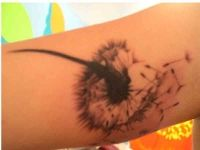 Tattoo picture of dandelion http://www.everytattoo.com