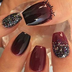 Fall Nails -                                                                                          Stephanie Loesch @_stephsnails_ VampireShiek #mar...Instagram photo | Websta (Webstagram)