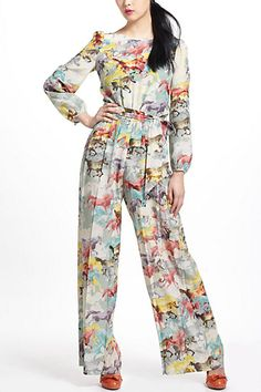 My going out jammies. Ponies! $129.95 at Anthropologie.