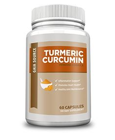 Gaia Source  Turmeric Curcumin  Improved Formula -- Click image to review more details.Note:It is affiliate link to Amazon.