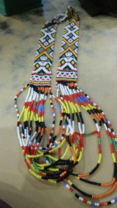 Borneo, Beading, Beaded Necklace, Textiles, Culture, Projects, Art, O Beads, Art Background