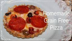 Homemade Grain Free Pizza