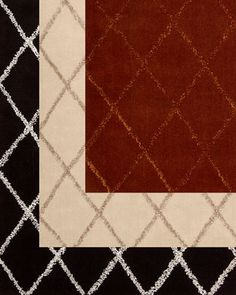 """Diamond Jubilee"" Rug by Joseph Abboud at Horchow."