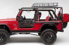 Body Armor Jeep Wrangler Roof Rack - TJ / LJ / JK - AutoTruckToys.com