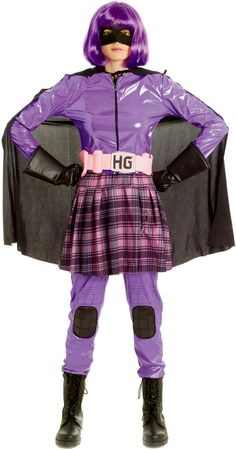 Kick Ass Hit Girl Deluxe Costume - Superhero Costumes at Escapade™ UK - Escapade Fancy Dress on Twitter: @Escapade_UK