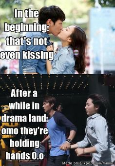 hahaha, the evolution of a Kdrama watcher. Too funny!