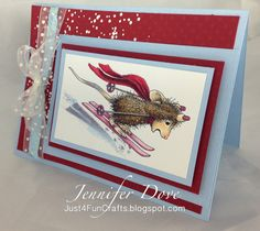 New Release from Stampendous. I know most of your are hoping the snow doesn't come anytime soon...keep hoping 'cause it is coming. Here i...