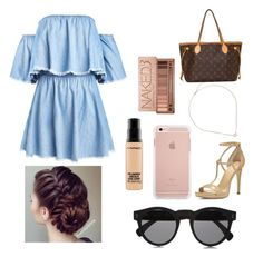 """"""""""" by drakkee ❤ liked on Polyvore featuring MICHAEL Michael Kors, Kendra Scott, Louis Vuitton, Urban Decay, MAC Cosmetics and Illesteva"""