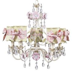 Jubilee Collection  Flower Garden Chandelier with Optional Shade