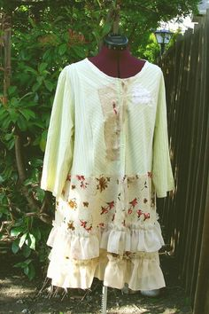 Rustic French Country Dress Designed by KheGreen Eco by KheGreen, $85.00