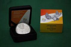 Moeda De Prata Olimpíadas Forró - Completa No Estojo - R$ 110,01 em Mercado Livre