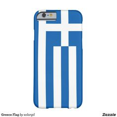 Greece Flag Barely There iPhone 6 Case
