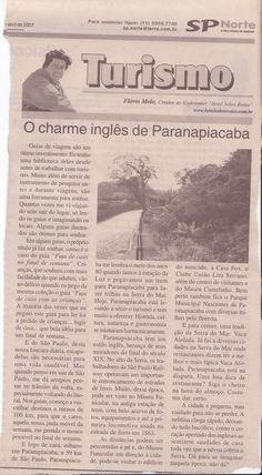 O Charme Inglês de Paranapiacaba – publicado em 05 de abril de 2007
