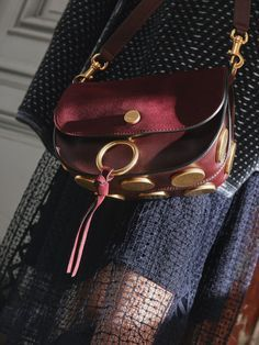 Meet Kurtis – this season's playful bag in rich hues with bold round accents