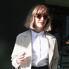 Photo of the lovely @stylememos by #SEARCHSTYLE photographer @pollyhanrahan on DAY 3 #LFW. Search 'Alexis' on www. SEARCHSTYLE.com to see her amazing profile.