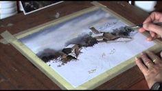 Pintando acuarela... Paisaje Nevado - Urango