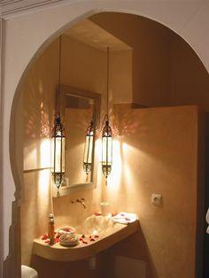 Riad Al Jazira – Marrakech, Morocco - 2012 winner. One of the ensuite bathrooms.