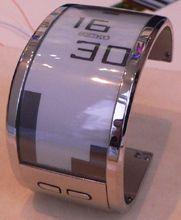 Seiko e-paper watch