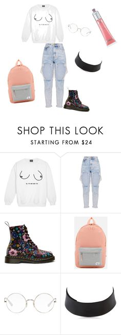 """""""""""I French kissed a succulent and now I love indie music"""" ~"""" by sawyer-nicole on Polyvore featuring Herschel, Ray-Ban and Saskia Diez"""