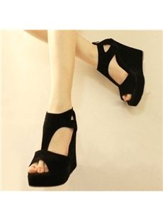 It offers you 2018 some cheap wedge shoes of different styles:printed wedge  heels, strappy wedges boots, summer wedge sandals are standing for good  quality.