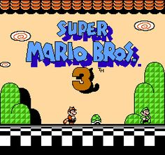 Super Mario Bros. 3...will always love the first three Mario games. will be arriving on tuesday. can't wait to play again :)