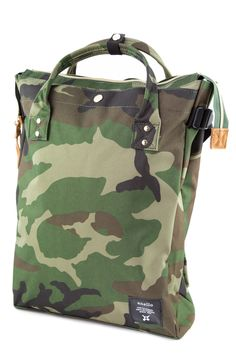 Anello+Square+Tote+Flappack+-+The+Anello+Square+Tote+Flappack+can+be+used+as+either+a+tote+or+a+backpack.+With+easy-clean+polyester+material+and+faux-suede+accents,+the+bag+is+a+casual+and+versatile+accessory+for+everyday+use.+ Sweet Dreams, Bag Accessories, Camo, Smile, Backpacks, Casual, Clothes, Collection, Camouflage