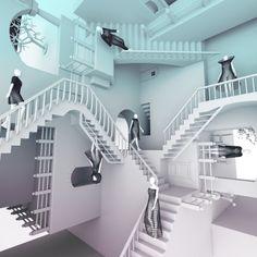 Escher Fashion Show