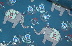 Elefanten Jersey *Elefanten Liebe* petrol