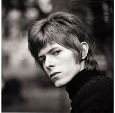 DAVID BOWIE is mean and moody