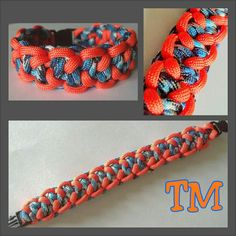 Niagara Thunder Paracord Bracelet by ThrowinWristicuffs on Etsy, $7.00