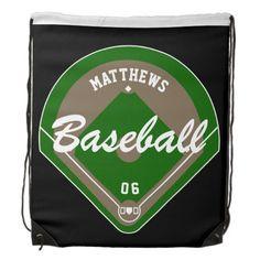 Baseball Diamond Player Name and Number