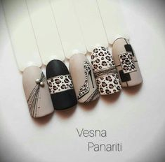 nails, You can collect images you discovered organize them, add your own ideas to your collections and share with other people. Leopard Nail Art, Leopard Print Nails, Animal Nail Art, Gel Nail Art, Best Acrylic Nails, Nail Polish, Diy Nails, Cute Nails, Manicure