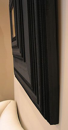 Carton Noir Miroirs Exclusive Objects Mirrors Frames