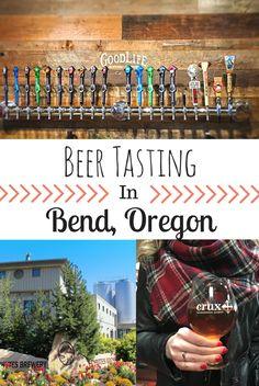 Beer Tasting in Bend, Oregon