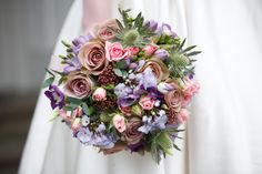 Vintage Wedding Bouquet by Hayley Allcoat, Amnesia Roses